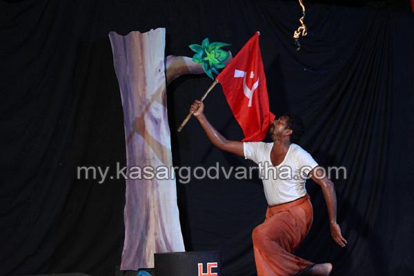 News, Kerala, Drama, CPM, Fascism, Schools, Books, 'Kandamrugham' solo drama performed