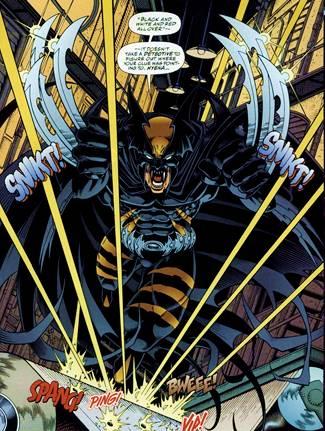 Dark Claw, de Amalgam, es la fusión de Batman y Lobezno