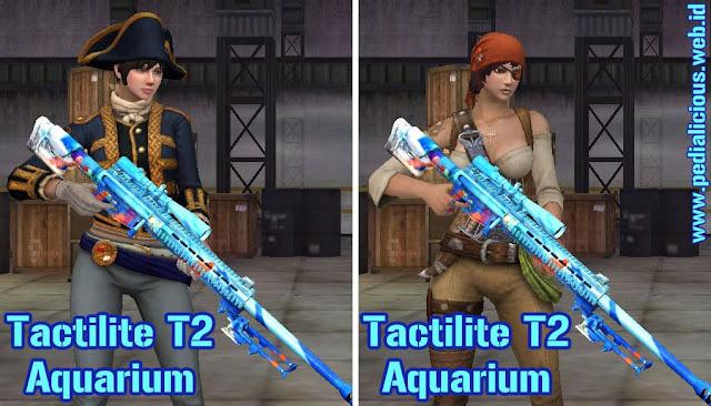 Preview Senjata Tactilite T2 Aquarium Point Blank Zepetto Indonesia