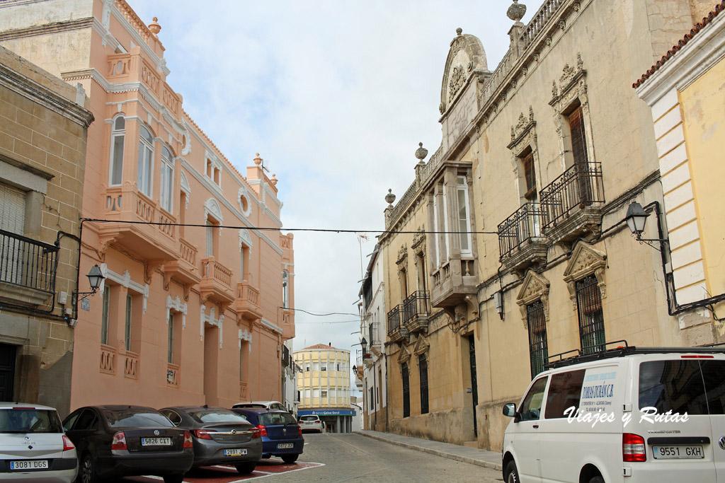 Cuatro calles de Alcántara