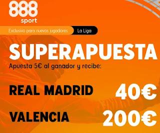 888sport superapuesta Real Madrid vs Valencia 14-2-2021
