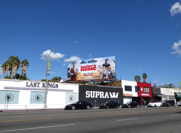 Daddy's Home movie billboard