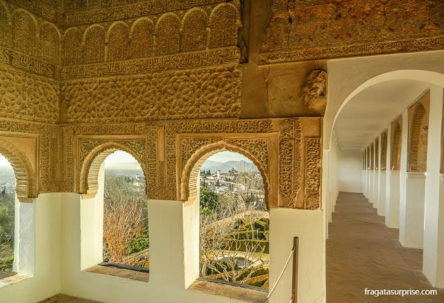 Palácio Generalife, na Alhambra de Granada