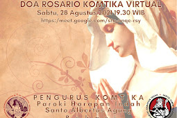 Doa Rosario Komtika Virtual 28 Agt 2021