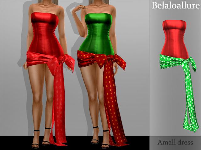 Новогодние и рождественские аксессуары для The Sims 4 со ссылками на скачивание