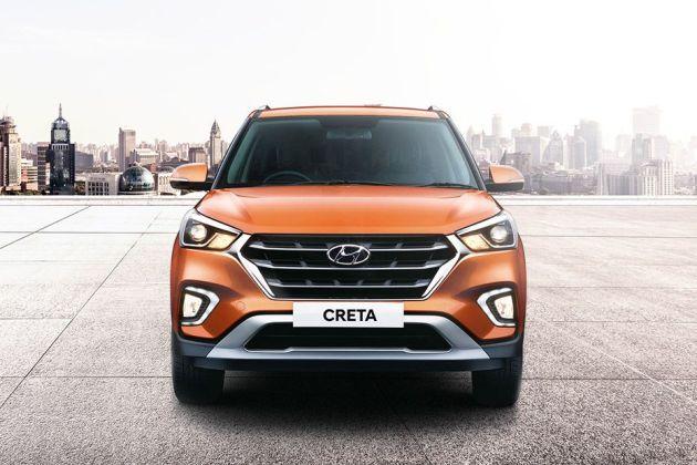 New 2018 Hyundai Creta Facelift front look image