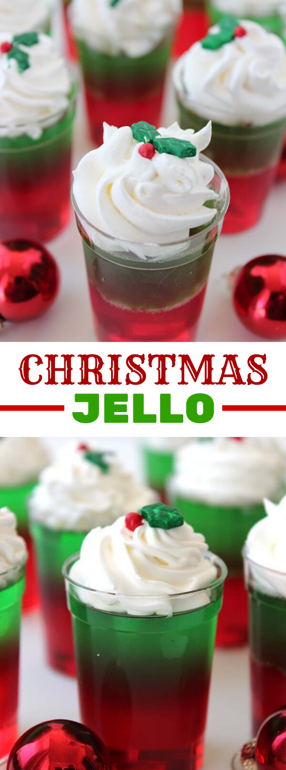 CHRISTMAS JELLO #desserts #simplerecipes
