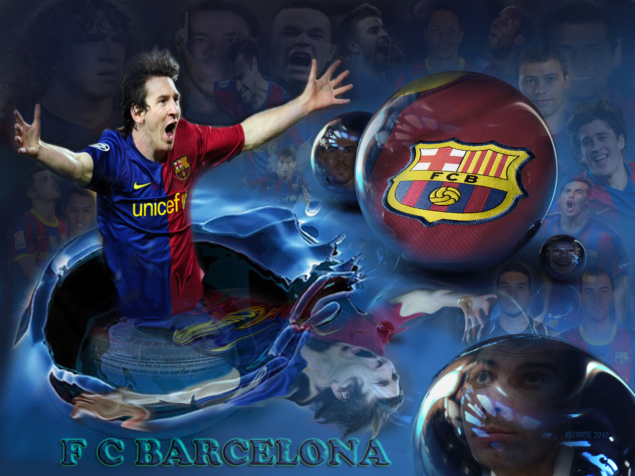 Sport Wallpaper Fc Barcelona: ALL SPORTS CELEBRITIES: FC Barcelona Players New HD