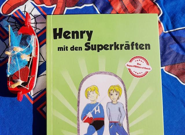 """Heute ein Buch! """"Henry mit den Superkräften"""" und """"Das Handbuch für SuperFÜHLkrafthelden"""": Bücher für hochsensible Kinder und ihre Eltern. Das SuperFÜHLkraftbuch hilft Kindern und ihren Elternteilen, liebevoll mit ihren besonderen Fähigkeiten umzugehen."""