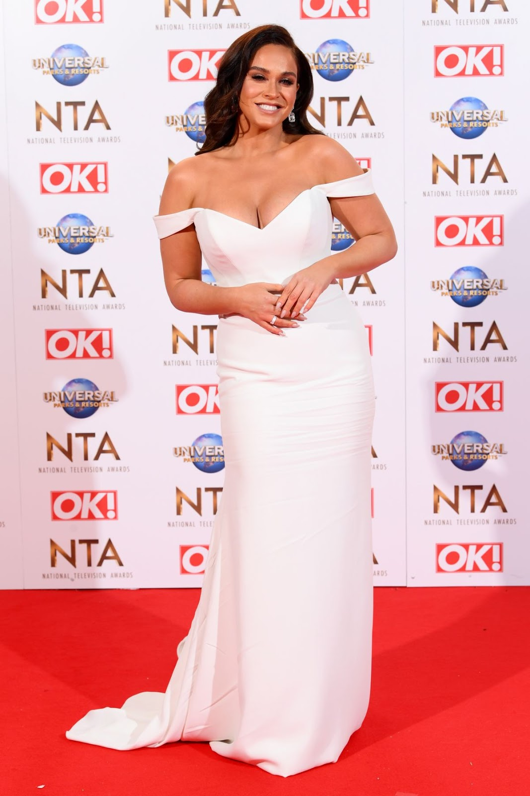 Vicky Pattison Hot Photos in White Outfit