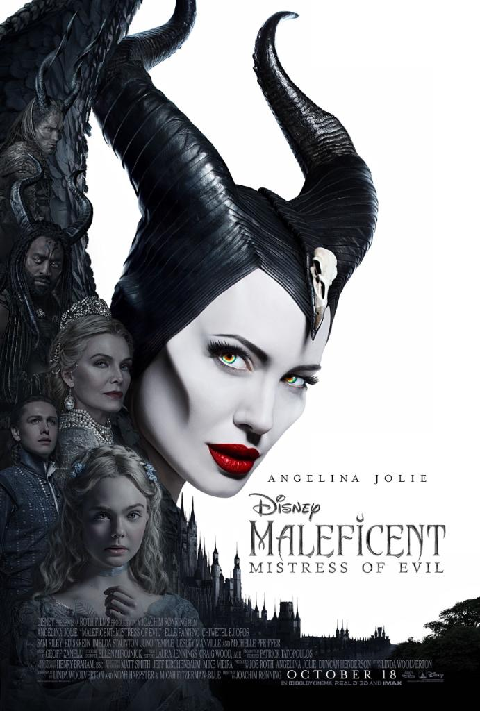 Maleficent: Mistress of Evil Theatrical Release Poster