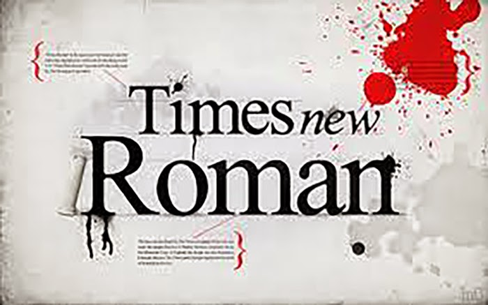 A short film about Times New Roman