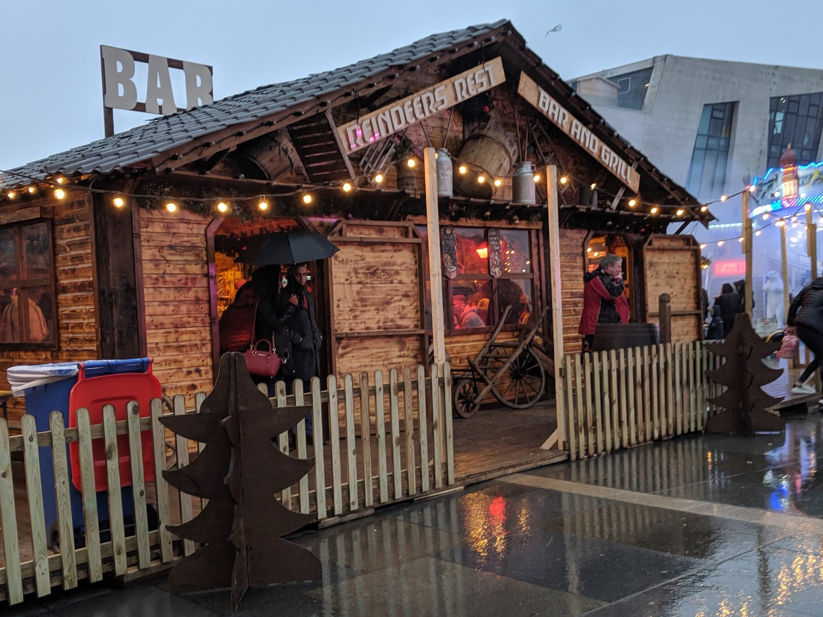 A Guide to Visiting Liverpool Christmas Markets & Lights  - Liverpool Ice Festival Reindeer Bar