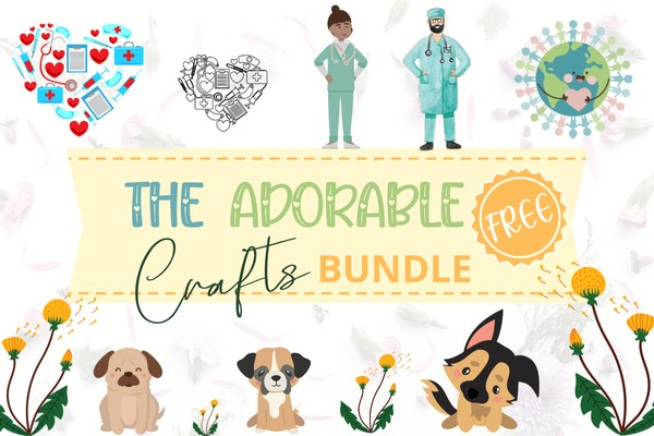 The Adorable Free Craft Bundle