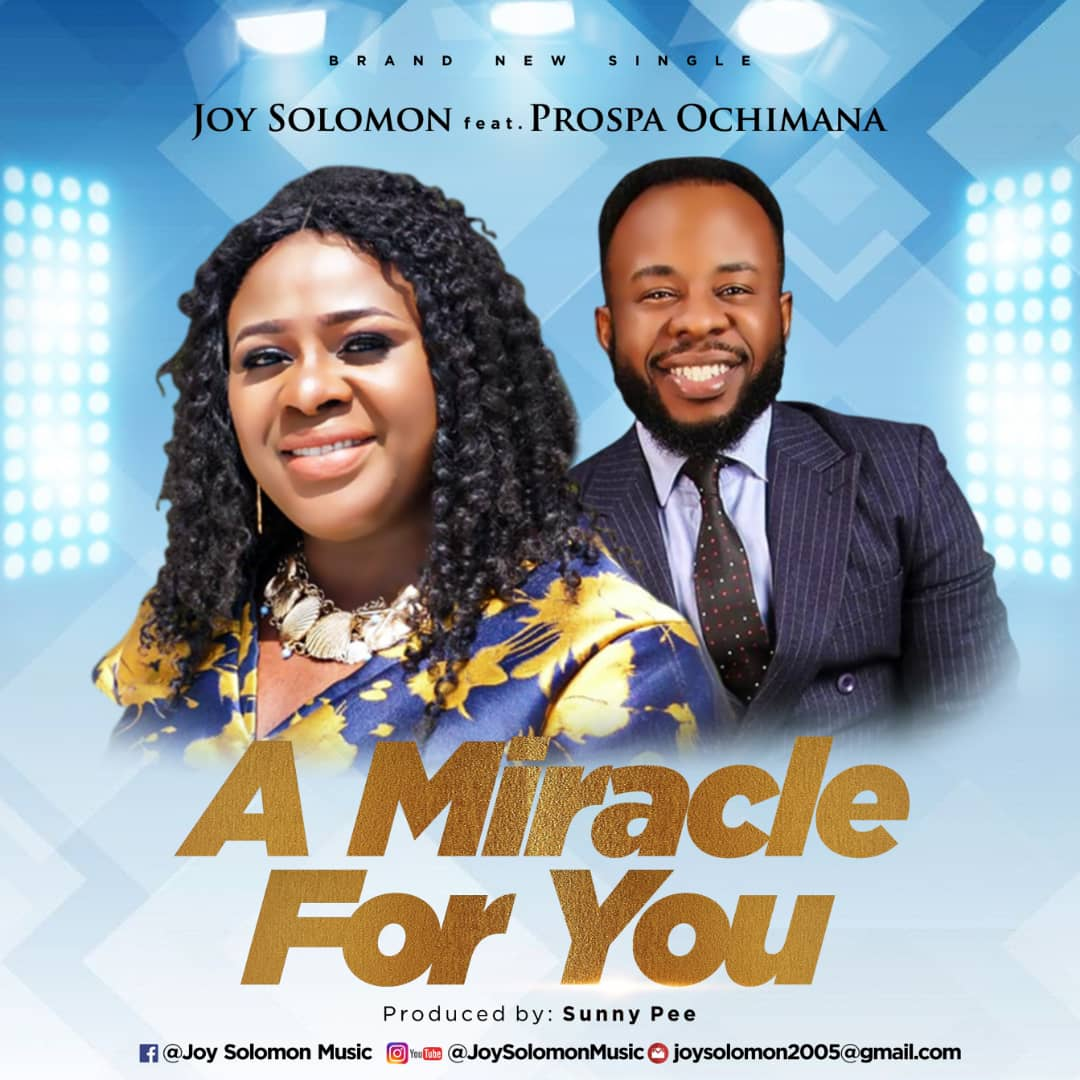 Joy Solomon - A Miracle For You Audio