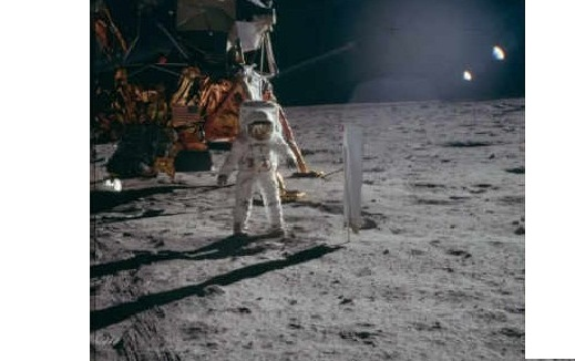 What Apollo 11 astronauts saw during moon landing is written on their ...