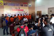 Kapolres Sinjai Pimpin Press Release Ungkap Kasus Narkotika Operasi Antik Lipu 2019