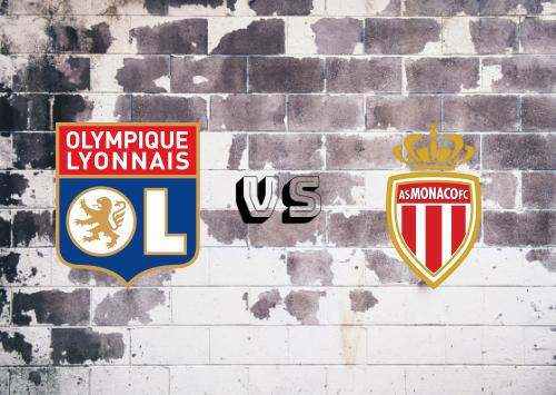 Olympique Lyonnais vs AS Monaco  Resumen