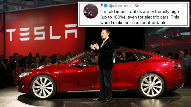 Will Tesla launch their Electric Vehicles in India by 2020?