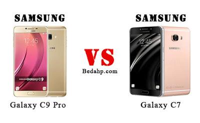 Perbedaan Samsung Galaxy C7 dan C9 Pro