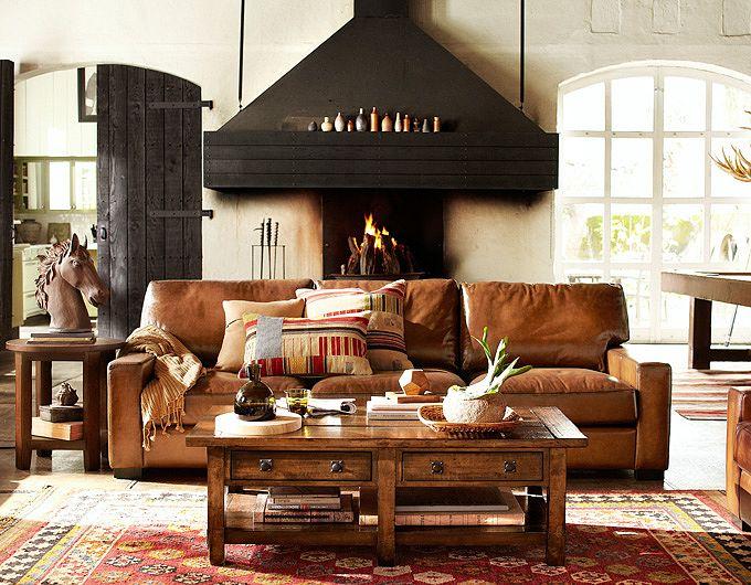 Salas torne o seu espa o mais aconchegante decora o e - Interior designer discount pottery barn ...