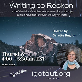 Creating Your #iGotOut Statement with Gerette Buglion