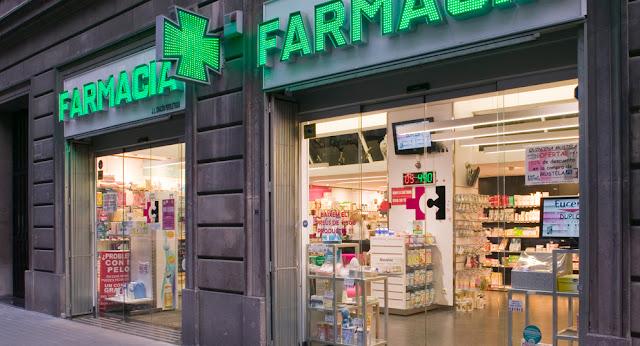 Farmácia em Barcelona