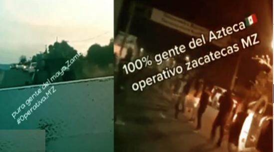 Todavía llegaron más, el Mayo Zambada envía más refuerzos a Zacatecas