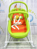 Baby Swing dan Boks Bayi Junior L'abeile MC303  2 in 1 Rocking Higher