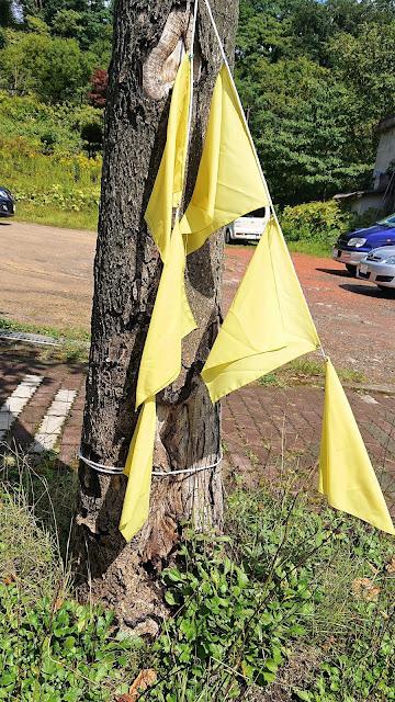 北海道 夕張 幸福の黄色いハンカチ想い出ひろば