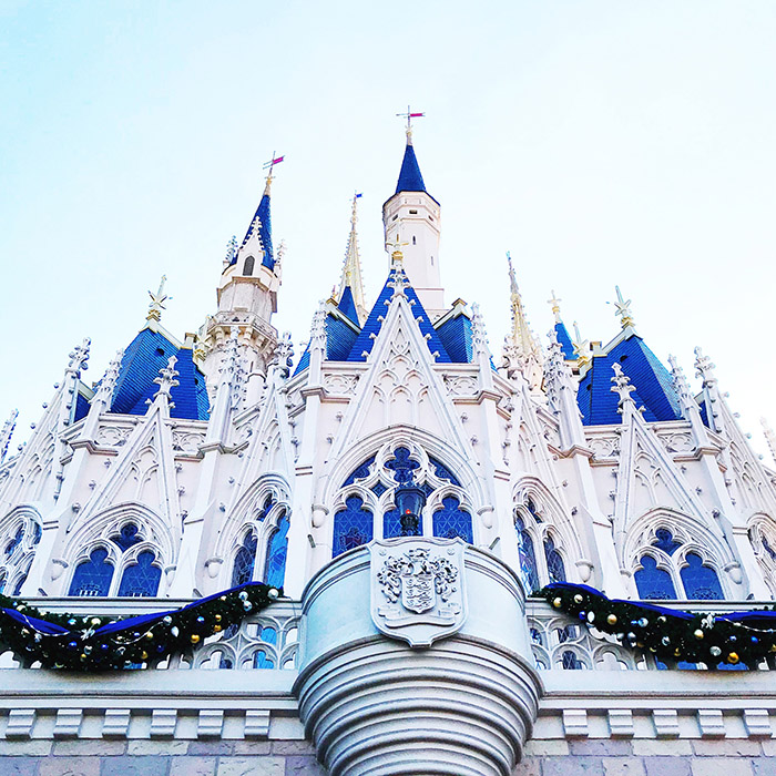 leap of faith, disney, Walt disney world, magic kingdom, disney Christmas, cinderella castle, WDW, disney castle, a style caddy, sheri ann schmitz