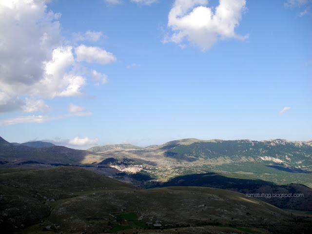 the view from Rocca Calascio, Abruzzo
