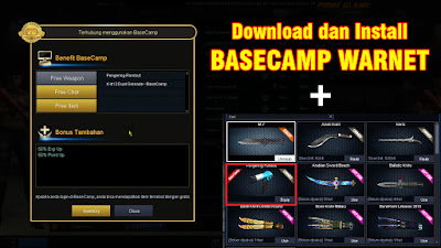 Cara Daftar dan Install Basecamp Point Blank Zepetto