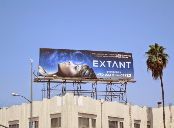 Extant series premiere billboard