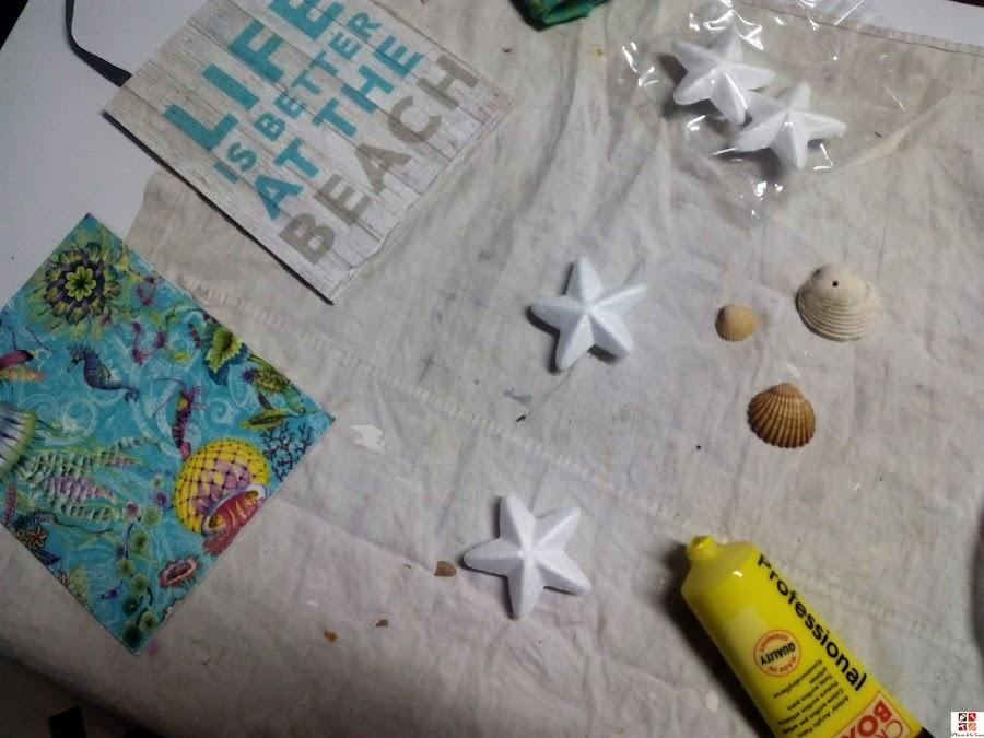 diy estrellas de mar