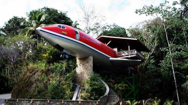 Kamar Pesawat di Hotel Costa Verde, Kosta Rika