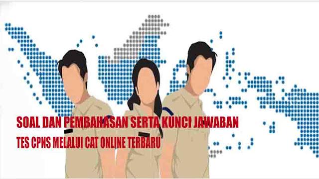 Soal Cpns Pppk Dan Kunci Jawabannya Untuk Cat Online Lengkap Pedia Pendidikan