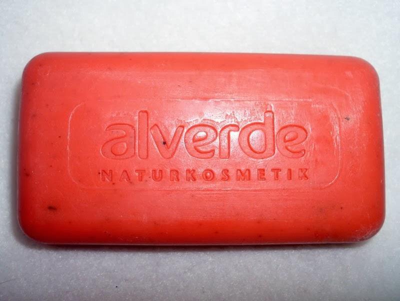 mydło truskawkowe alverde składniki