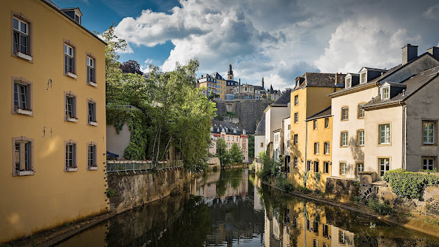 luxembourg ville paysage luxe