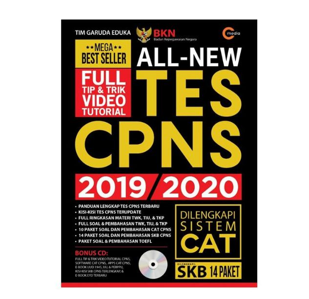 Contoh Soal CPNS CAT dan Jawabannya