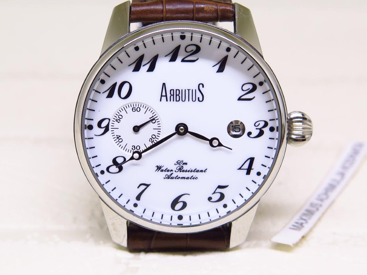 ARBUTUS WHITE NUMERAL DIAL SUB SECON - AUTOMATIC