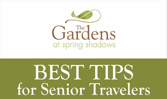 The best tips for senior tourists #infographic