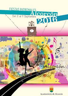 Fiestas Patronales de Alcorcón 2016 - Programa septiembre