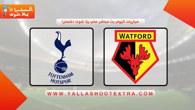 موعد مباراة واتفورد و توتنهام اليوم 19-10-2019 في الدوري الانجليزي