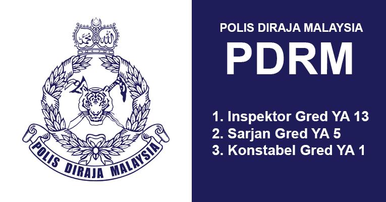 Jawatan Terbuka di Polis DiRaja Malaysia PDRM