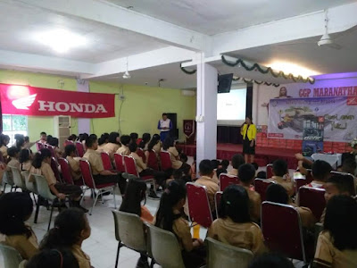 Antusiasme Peserta Safety Riding Education dari Capella