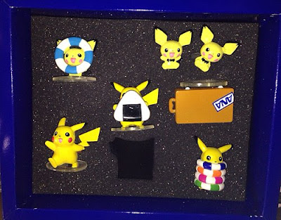 Pichu Pichu brother figures set Tomy Monster Collection 2000 ANA present
