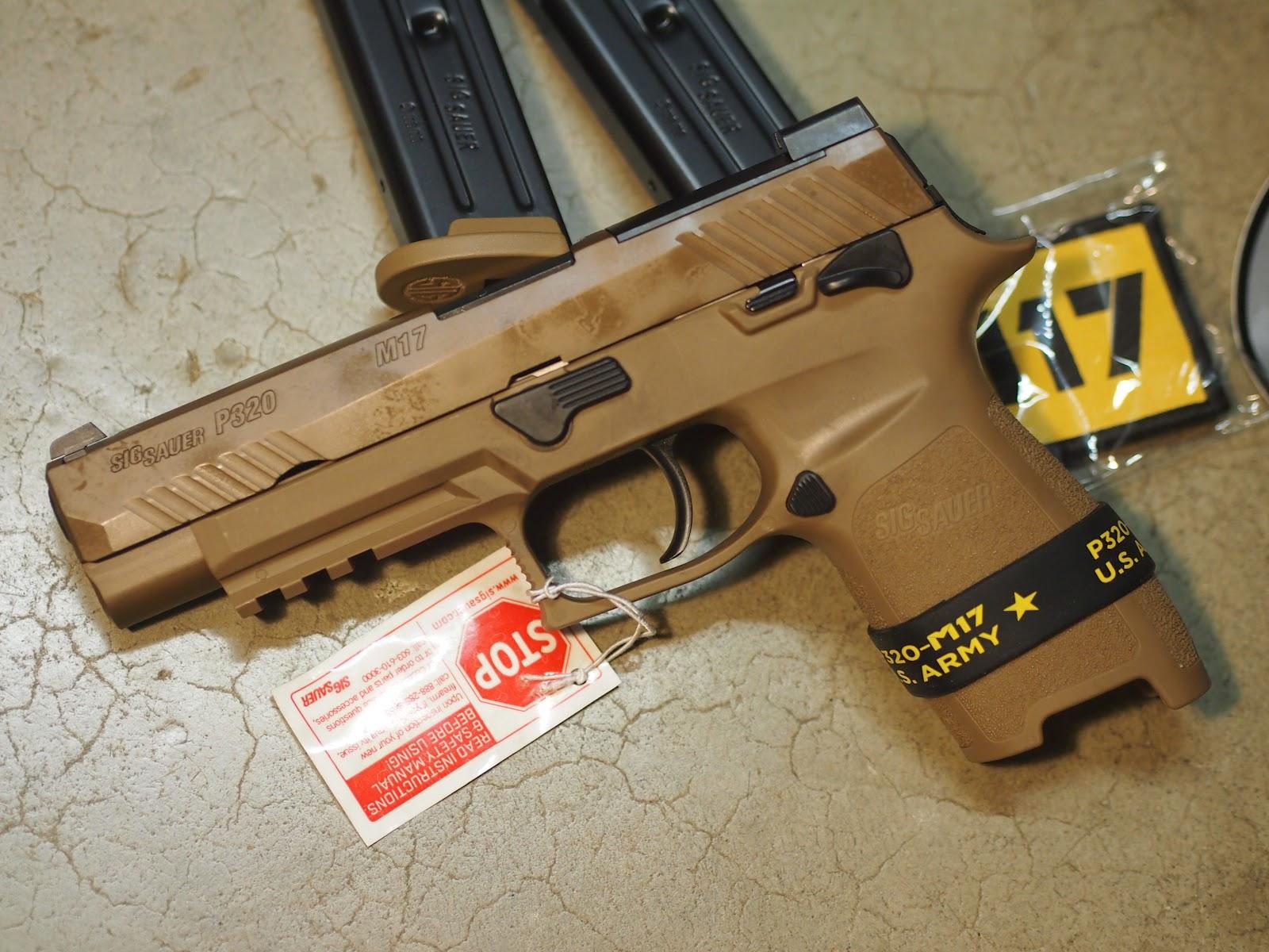 Mister Donut's Firearms Blog: Sig Sauer M17