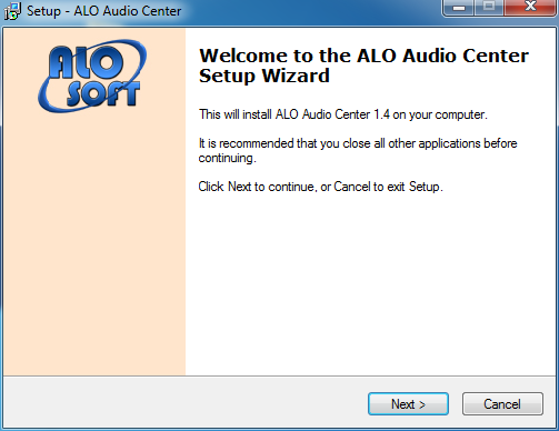 Audio Center Converter