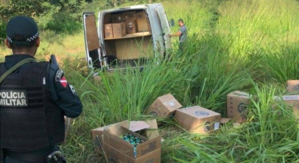 Canaã: Bandidos rendem motorista e roubam carga de cigarro
